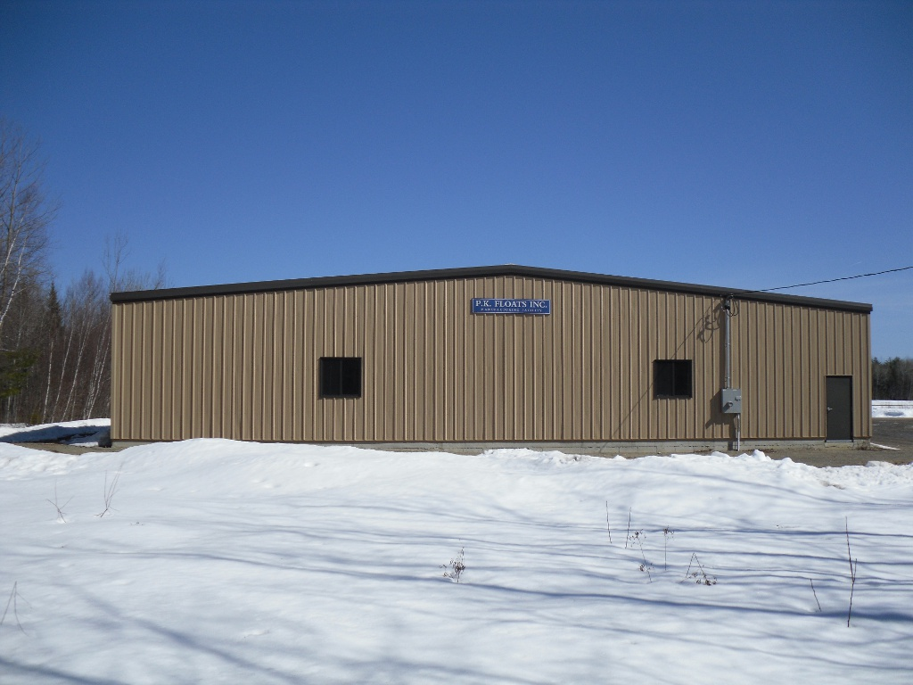PK Floats – Metal Building Addition | SJ Wood Construction Company, Inc