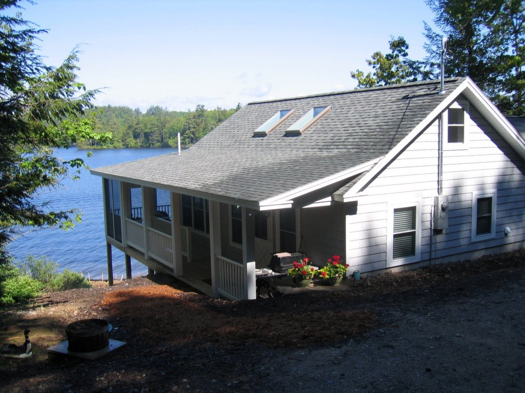 Lakeside cottage addition renovations before after for Cottage additions