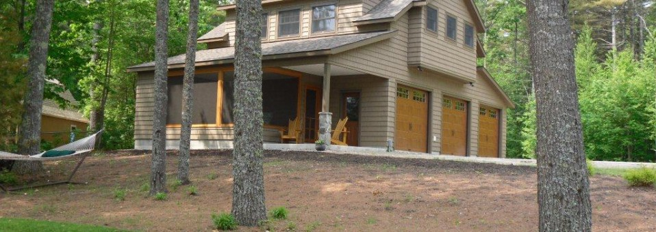 Lakeside Cottage & Carriage House – New Construction
