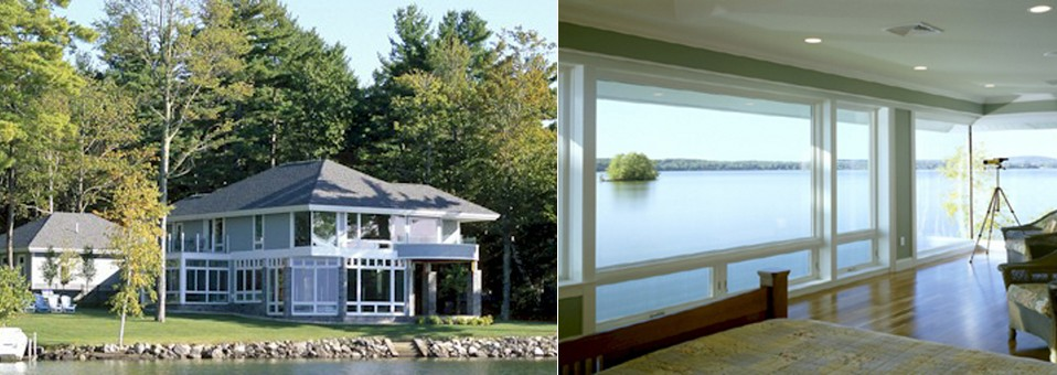 Contemporary Lakeside Home – New Construction