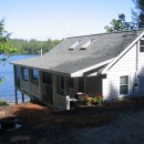 Lakeside Cottage – Addition & Renovations (before & after pictures)